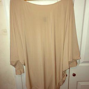 A beautiful beige dress